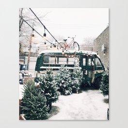 Let it Snow, Chicago Canvas Print