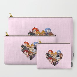 Trio Heart Carry-All Pouch