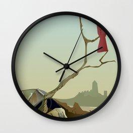 CARDINAL LOOMS Wall Clock