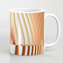 Bending the Bars of Rules - Pure Fractal Abstract Coffee Mug