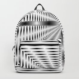 Into the Tunnel - Optical Illusion Backpack