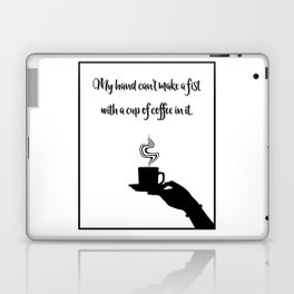 My Hand Can't... Laptop & iPad Skin