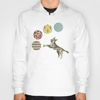 games Hoodies featuring Ball Games by Cassia Beck