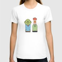 muppets T-shirts featuring Bunsen & Beaker – The Muppets by Big Purple Glasses