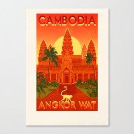 Cambodia - Angkor Wat Canvas Print
