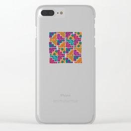 Wari pop V Clear iPhone Case