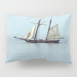 Tall ship Sails by Pillow Sham