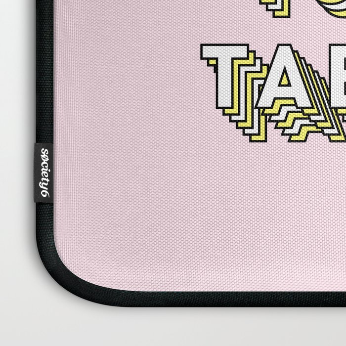 My Brain Has Too Many Tabs Open - Typography Design Laptop Sleeve
