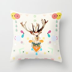 what's the matter dear? Throw Pillow