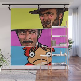 The Good, The Bad & The Ghibli Wall Mural