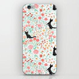 Lucky Cat Garden iPhone Skin