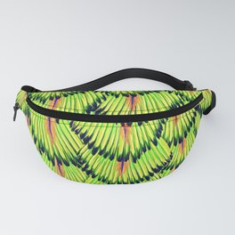 Peacock inspirational pattern Fanny Pack