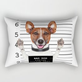 Jack russell prisoner Rectangular Pillow