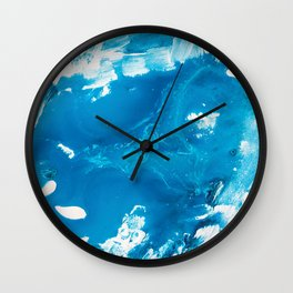Painterly Iceland 1 Wall Clock