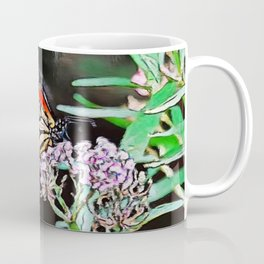 Monarchs Milkweed | oil painting Coffee Mug