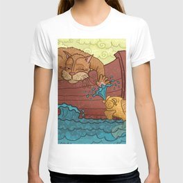 """Hemingway's Cat"" T-shirt"