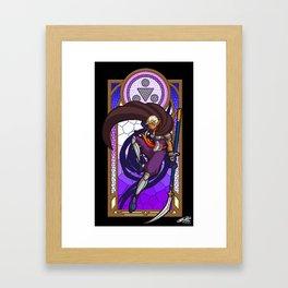 Sage of Shadows Framed Art Print