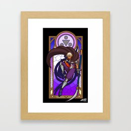 Sage of Shadows Framed Art Print