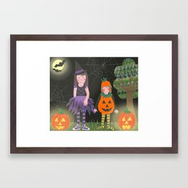 Halloween. Framed Art Print