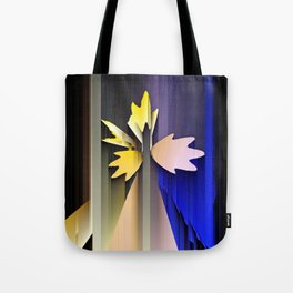 Lightning leaves spectrum Tote Bag