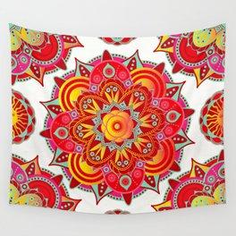 Root Chakra Mandala Wall Tapestry