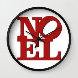 NOEL Wall Clock