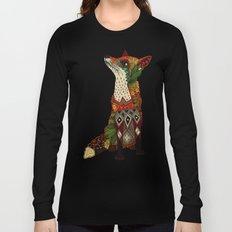 fox love mint Long Sleeve T-shirt