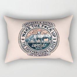 the awaken sheep (variant 2) Rectangular Pillow