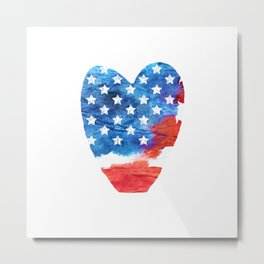 Love USA. aRT#1 Metal Print