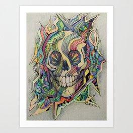 Death Dreams Art Print