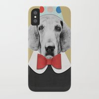 pooh iPhone & iPod Cases featuring Doggy Pooh the Clown by cafelab