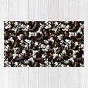 Dark Chinoiserie Floral Collage Pattern by danflcreativo