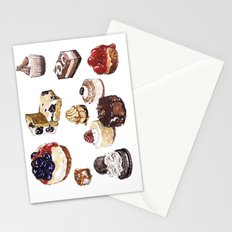 Cheesecake Stationery Cards