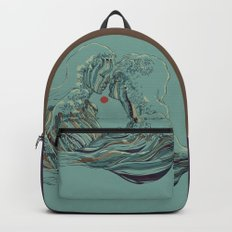 Kissing The Wave Backpacks