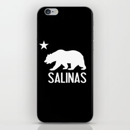Salinas and California Bear iPhone Skin