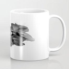 Black Geranium in White Coffee Mug