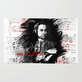 Johann Sebastian Bach Rug