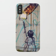 Rolling On Fire Slim Case iPhone X
