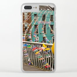 Weather wont stop the Cork Pride Clear iPhone Case