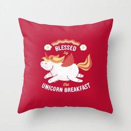 Bacon Breakfast Throw Pillow