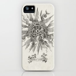The Immoral Compass iPhone Case