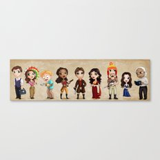 Firefly Lil' Damn Heroes Canvas Print