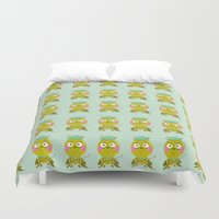 golf Duvet Covers featuring GOLF by Sucoco