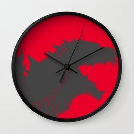Gojira 3 Wall Clock