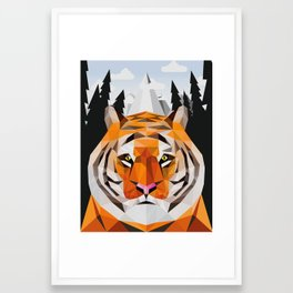 The Siberian Tiger Framed Art Print
