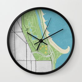 Parks of Chicago: Lincoln Park Wall Clock