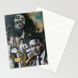 No racism but one Love Stationery Cards