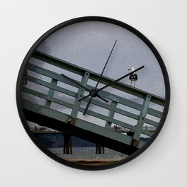 Hermosa Beach Viewer Wall Clock