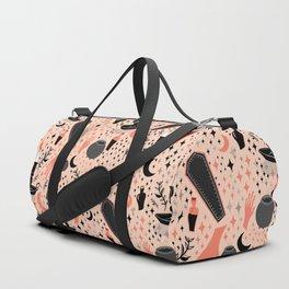 Halloween In Pink Duffle Bag
