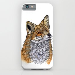 Fox Portrait iPhone Case